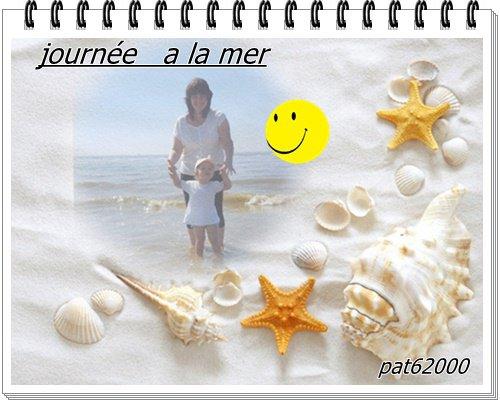 *****journée passé a la plage *****avec ma petite fille romy *****