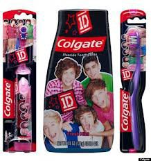 Brosse a dents One direction *-*