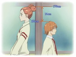 Lovely complex Mangas/animes/film (drama) ♥