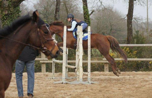 Mercredi 21 Mars cours de saut avec Merry mélodie