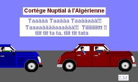 LE MARIAGE A L'ALGERIENNE