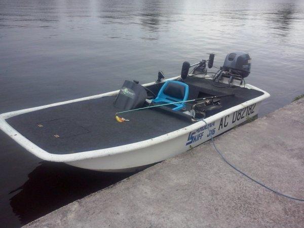 Mon carolina skiff version bass boat blog de catfish47 for Bass boat plans