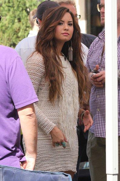 Demi Lovato : Glamour lors d'une rencontre avec des fans ! (Photos)