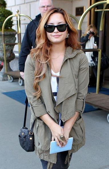 Demi Lovato : Radieuse à New York