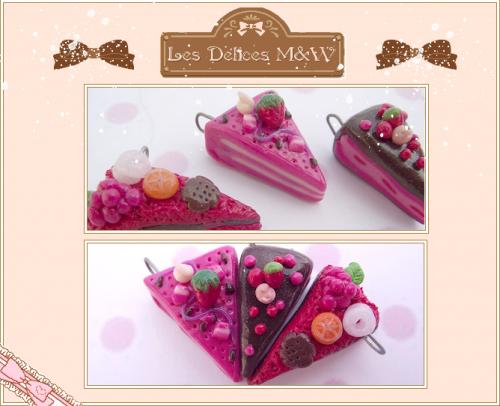 Parts de gâteaux