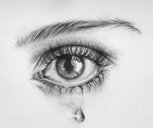 Pleurer en silence