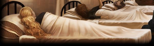 Chapitre 5: Séjour à l'infirmerie.