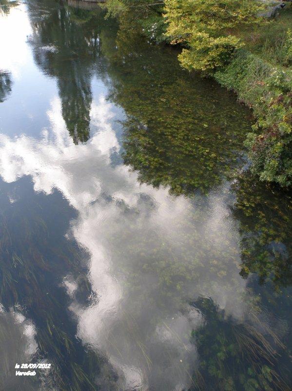 Reflets au fil de l'eau
