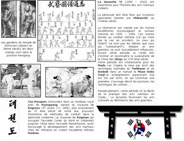 Revenons à l'origine du taekwondo