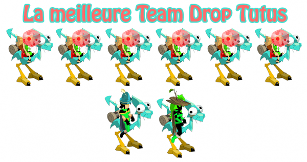 La Meilleure Team pour Drop des tutus!