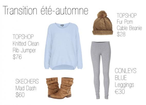 Outfit #2 - Transition été-automne !