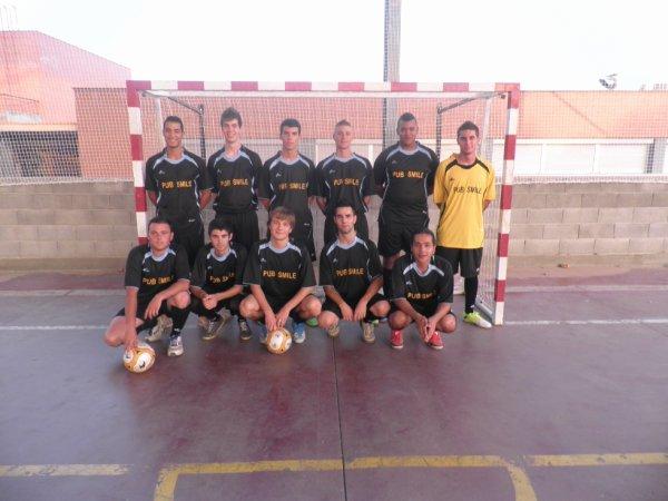 el equipo del torneo de fútbol sala de ALPICAT