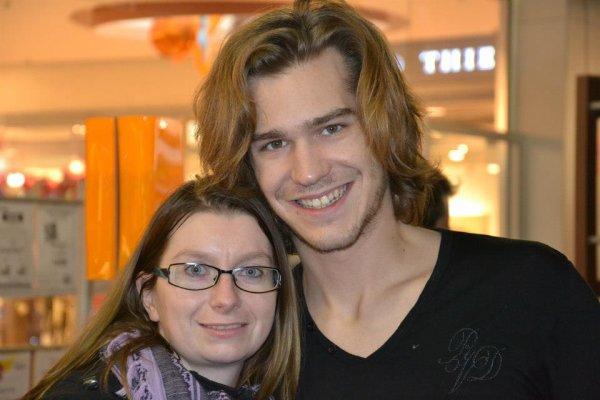 Amaury Vassily et moi