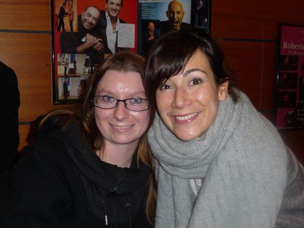 Virginie Hocq et moi