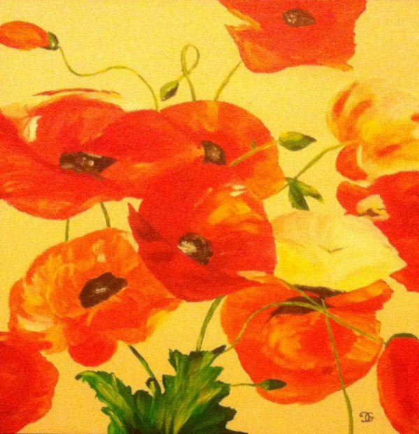 Composition de Coquelicots