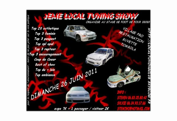2éme Local Tuning Show le 26 juin a four (38)