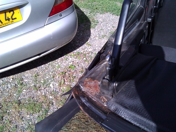 Changement de capote golf 1 cabriolet