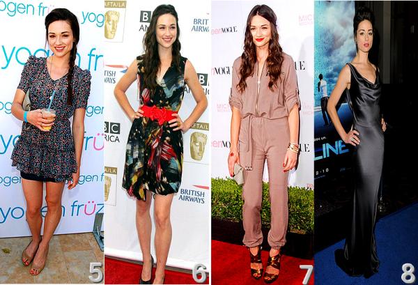 Quel tenue de Crystal Reed préféres tu ?