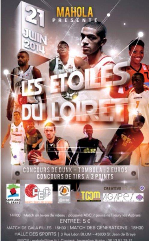 """""""LES ETOILES DU LOIRET"""" avec la participation de Nicolas BATUM  dj lass in the mix"""