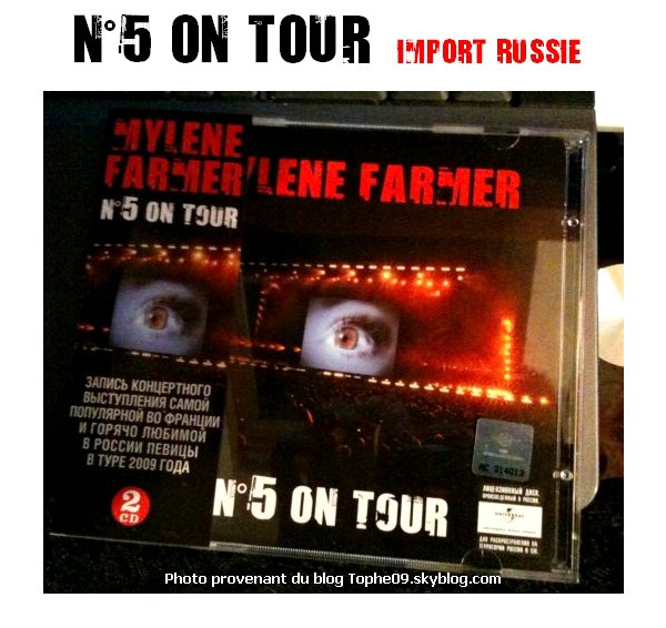 N°5 On tour import Russe