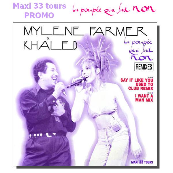 """Maxi 33T Promo """"La poupée qui fait non"""""""