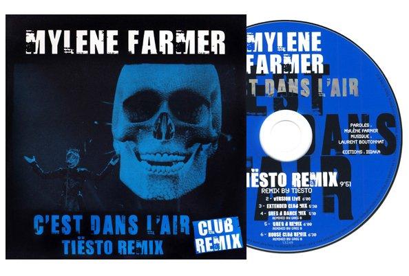 """CD promo """"C'est dans l'air"""" (Tiësto Remix)"""