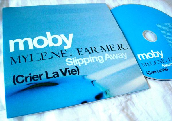 "CD Promo ""Slipping away (crier la vie)"""