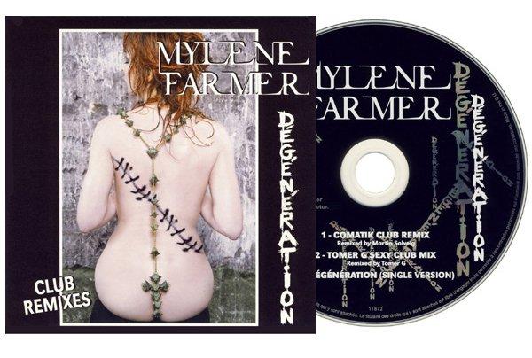"""CD Promo """"Dégénération"""" Club Remixes"""
