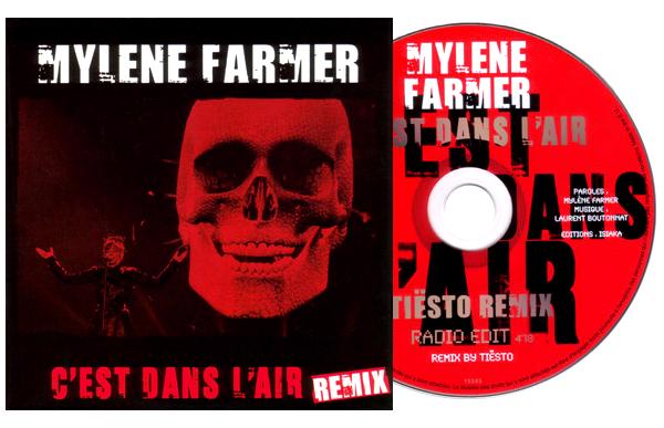 """CD Promo Remix """"C'est dans l'air (live)"""""""