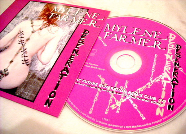 CD Promo Dégénération (New Remix)