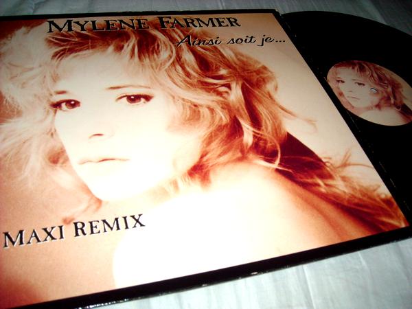 "Maxi 45 tours ""Ainsi soit-je"" + CD maxi ""Du temps"