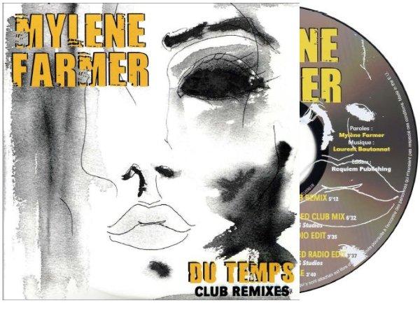 """CD Promo Club Remixes """"Du temps"""""""