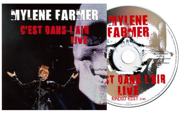 """CD Promo monotitre """"C'est dans l'air (live)"""""""