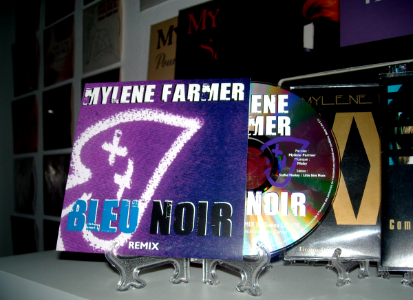 "CD Promo Remix ""Bleu Noir"""