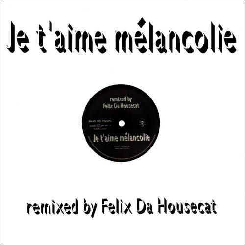 """Maxi 45 tours """"L'instant X"""" Remix et """"Je t'aime mélancolie"""" Remix"""