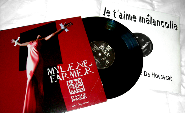"Vinyle Promo ""Je te rends ton amour"""