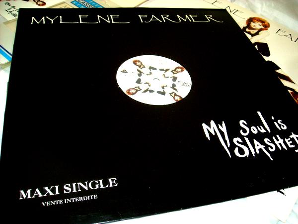 "Maxi 45 tours Promo ""My soul is slashed"""