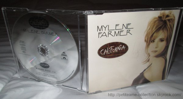 "CD Promo Allemagne ""California"""