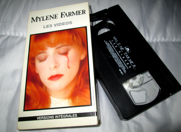 "VHS ""The Videos"" import Canada"