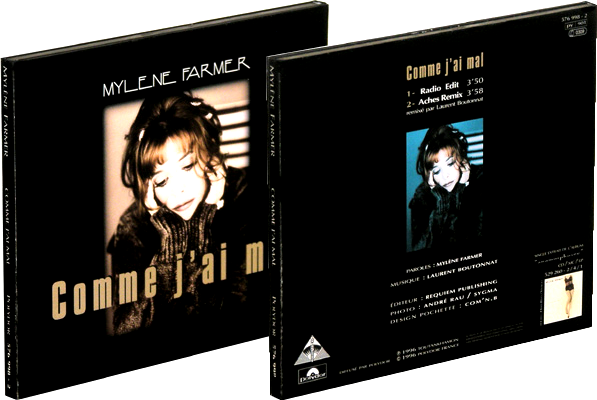 "CD Promo Digipack ""Comme j'ai mal"" scellé"