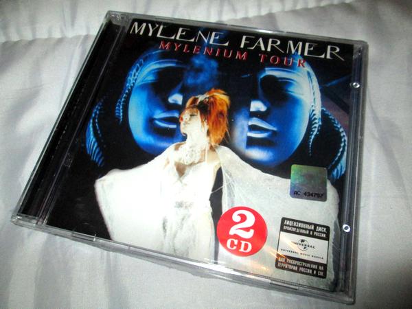 """CD """"Mylenium Tour"""" import Russie"""