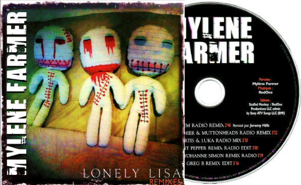 "CD Promo Remixes ""Lonely Lisa"""
