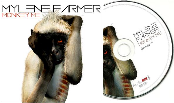 """CD Promo Monotitre """"Je te dis tout"""" et """"Monkey Me"""