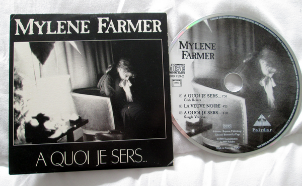 "Maxi CD ""A quoi je sers"""