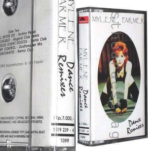 """Cassette import Indonésie """"Dance Remixes"""""""