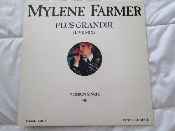 """Maxi 45 tours Promo """"Plus grandir"""" // Promo Luxe """"Redonne-moi"""""""