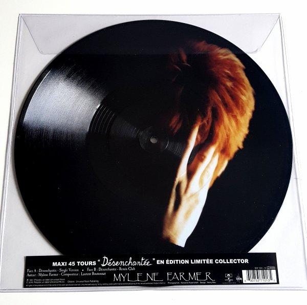 """Maxi 45T Picture Disc """"Désenchantée"""""""