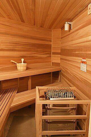 Je reve de me faire un bon sauna il y a longtemps