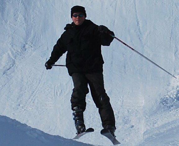 Il faut que j'y retourne l'an prochain!!! Eh oui c'est moi sur des skis lachez vos com's...