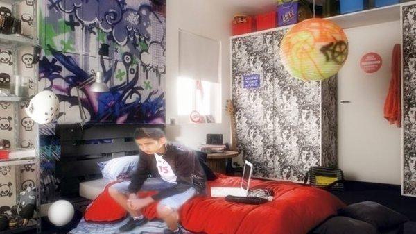 dans ma chambre <3